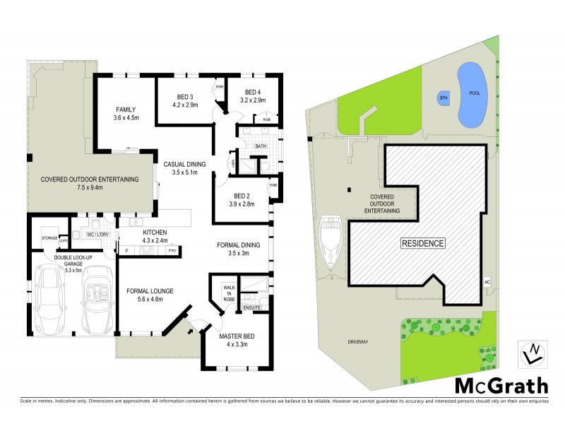 5 Woodman Place, Abbotsbury NSW 2176 Floorplan