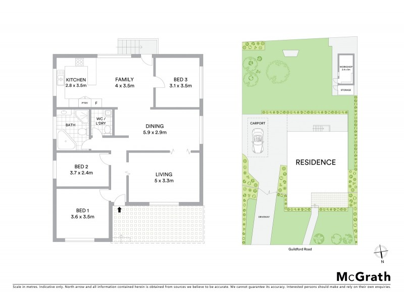 574 Guildford Road, Guildford West NSW 2161 Floorplan