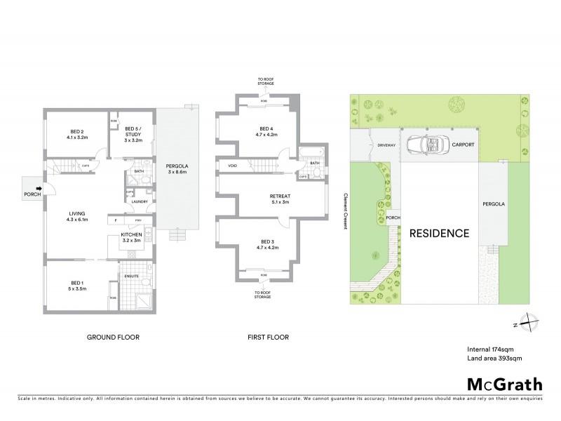 1 Clement Crescent, Croydon VIC 3136 Floorplan