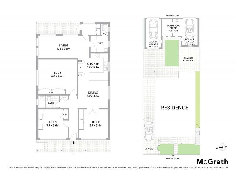 66 Maloney Street, Eastlakes NSW 2018 Floorplan