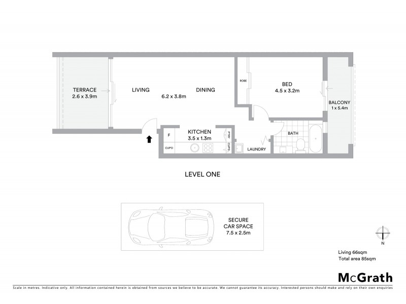 143/3 Queen Street, Rosebery NSW 2018 Floorplan