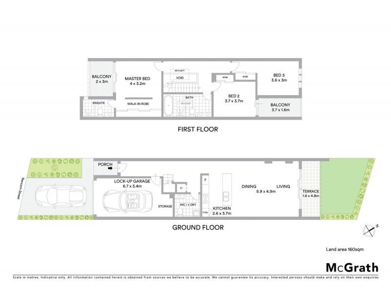 10A Rancom Street, Botany NSW 2019 Floorplan