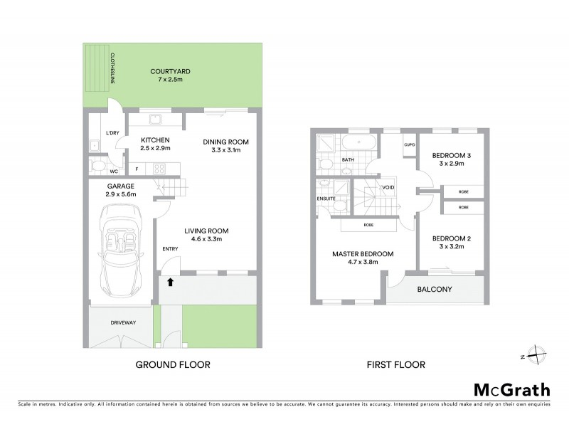 2/289 Maroubra Road, Maroubra NSW 2035 Floorplan
