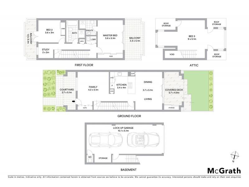 30/9 Myrtle Street, Botany NSW 2019 Floorplan