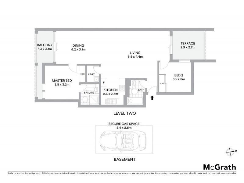 15/190 Maroubra Road, Maroubra NSW 2035 Floorplan