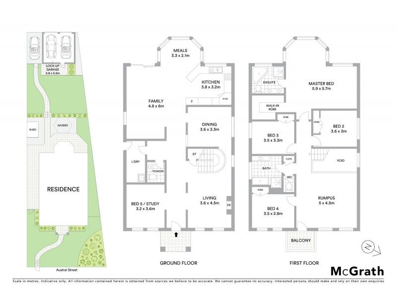 16 Austral Street, Malabar NSW 2036 Floorplan