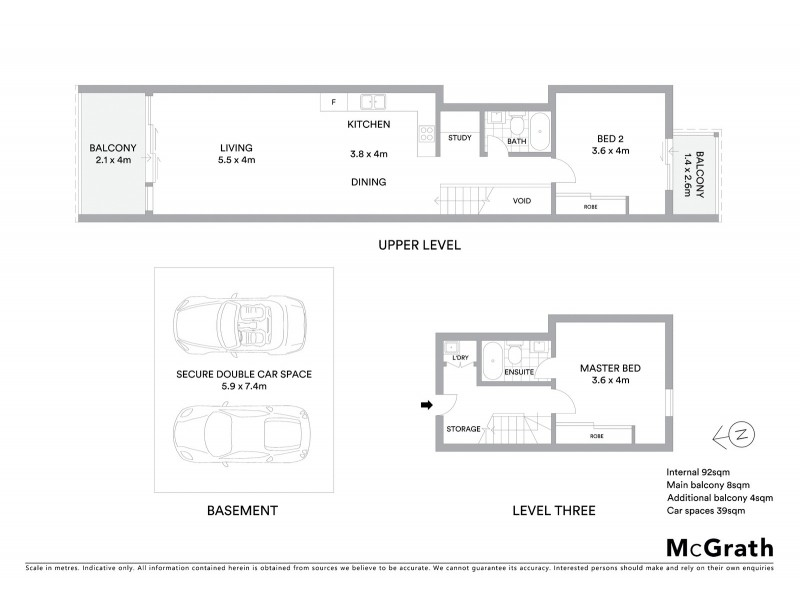 40/15 Green Street, Maroubra NSW 2035 Floorplan