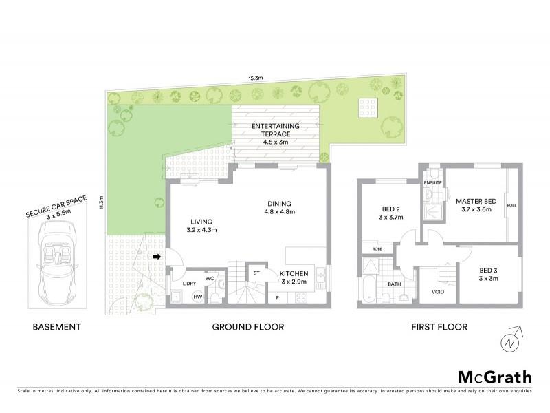 4/26 New Orleans Crescent, Maroubra NSW 2035 Floorplan