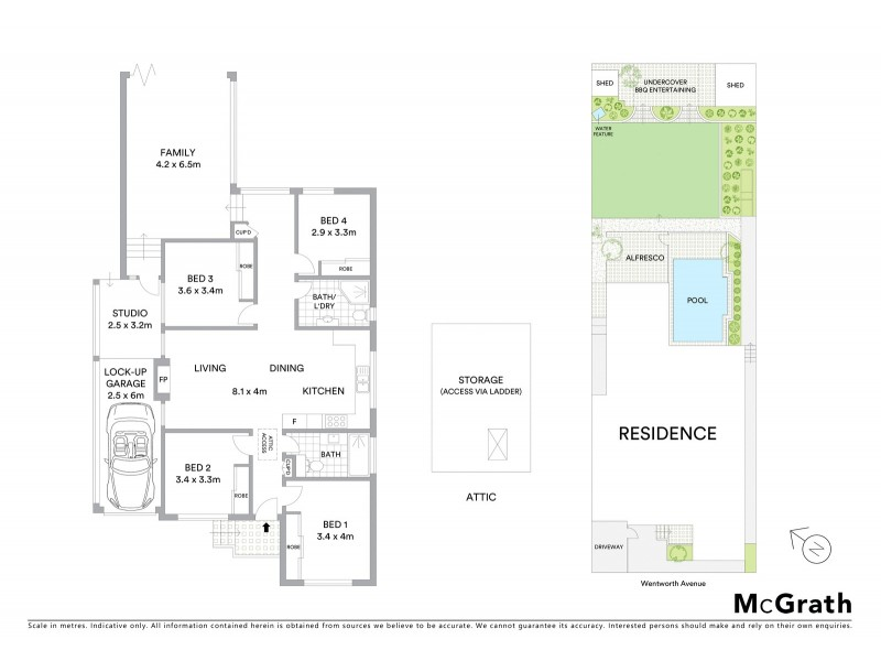 33 Wentworth Avenue, Pagewood NSW 2035 Floorplan