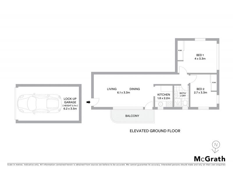 4/39 Newcastle Street, Rose Bay NSW 2029 Floorplan