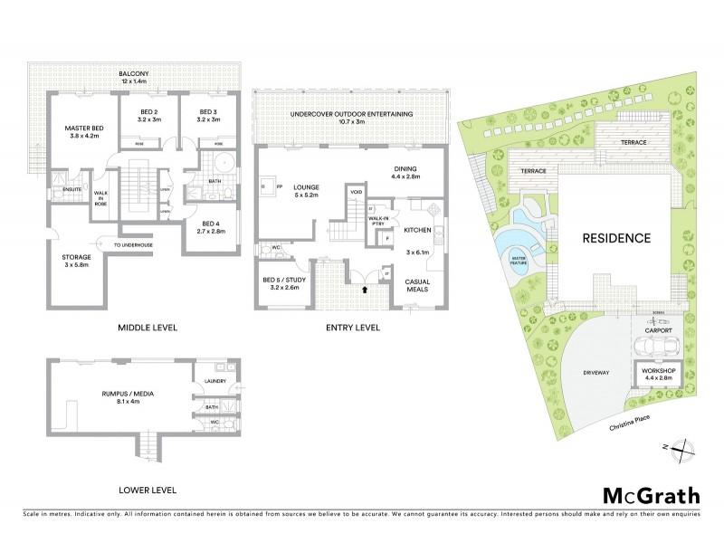 24 Christina Place, Kareela NSW 2232 Floorplan