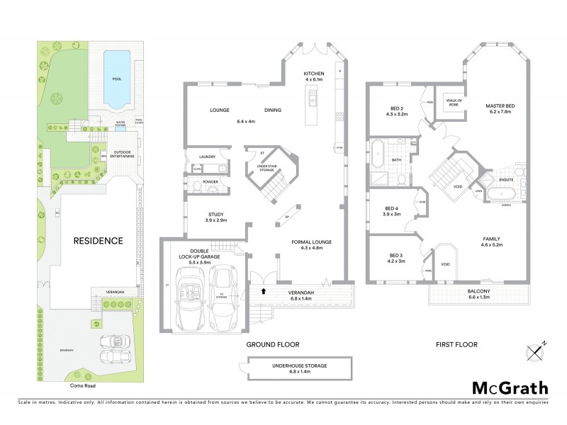 35A Como Road, Oyster Bay NSW 2225 Floorplan
