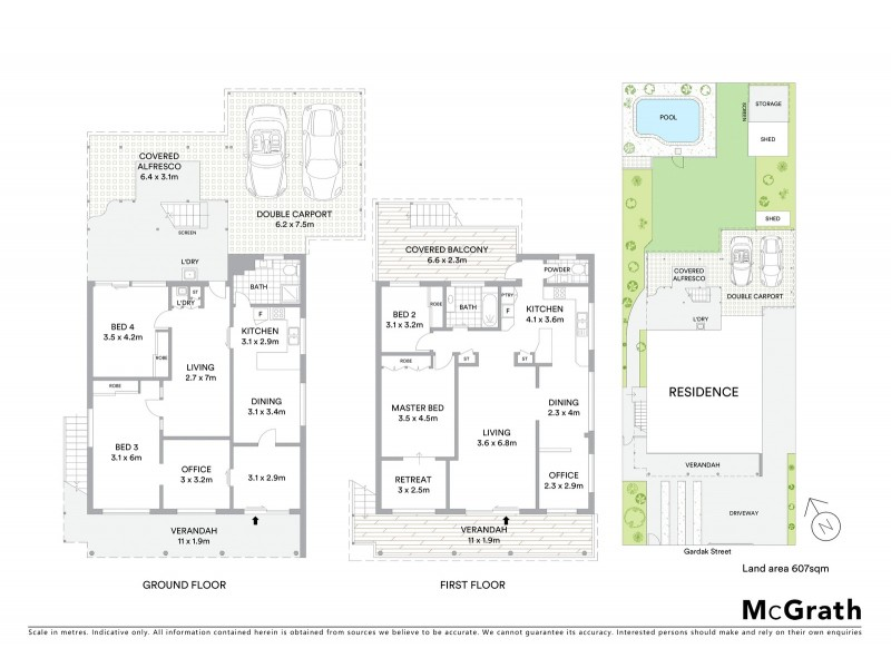 44 Gardak Street, Maroochydore QLD 4558 Floorplan