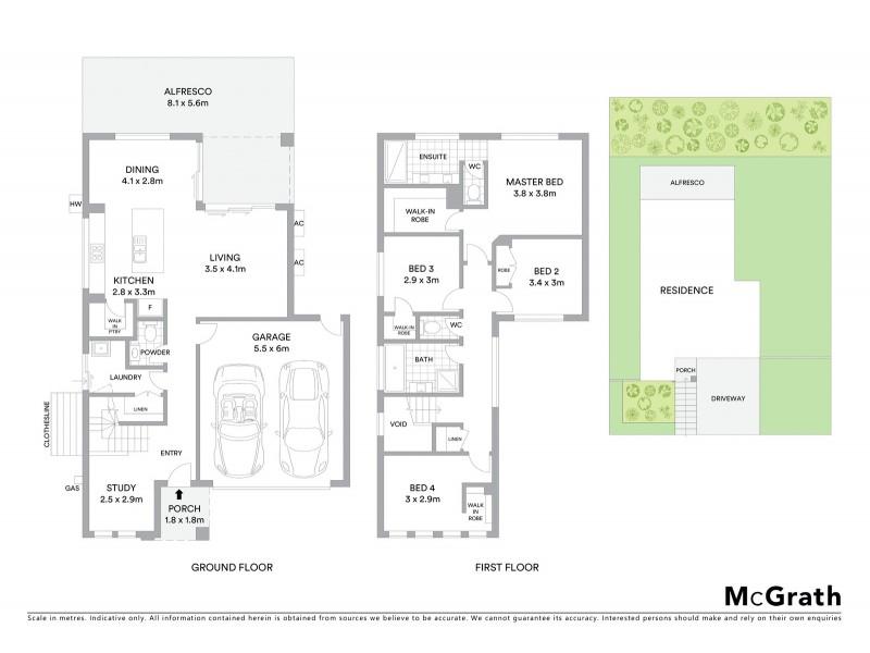 21 Catchlove Crescent, Augustine Heights QLD 4300 Floorplan
