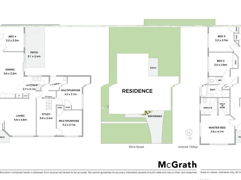 2 Mino Street, Springfield QLD 4300 Floorplan