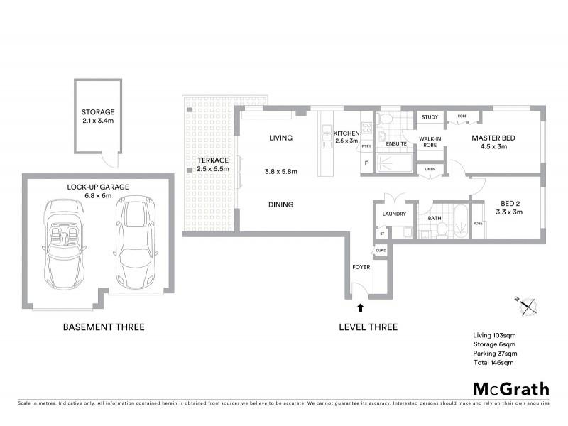 39/2 Finlay Road, Turramurra NSW 2074 Floorplan
