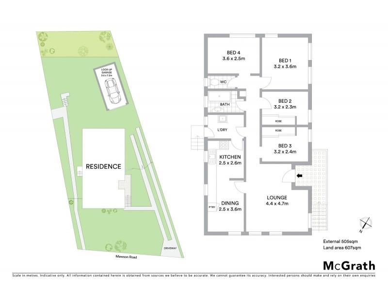 15 Mawson Road, Tregear NSW 2770 Floorplan