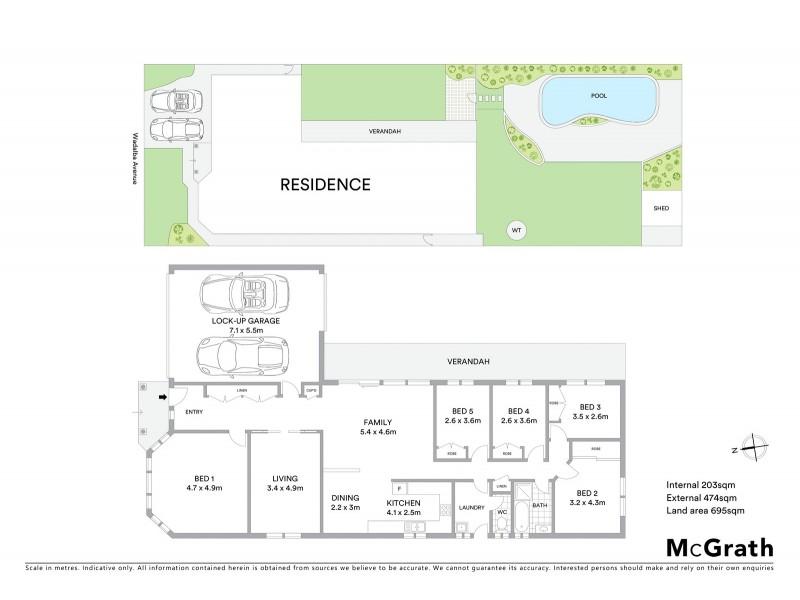 28 Wadalba Avenue, Lake Haven NSW 2263 Floorplan
