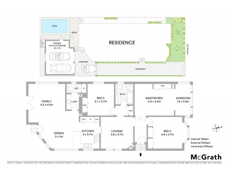 51 Fay Avenue, New Lambton NSW 2305 Floorplan