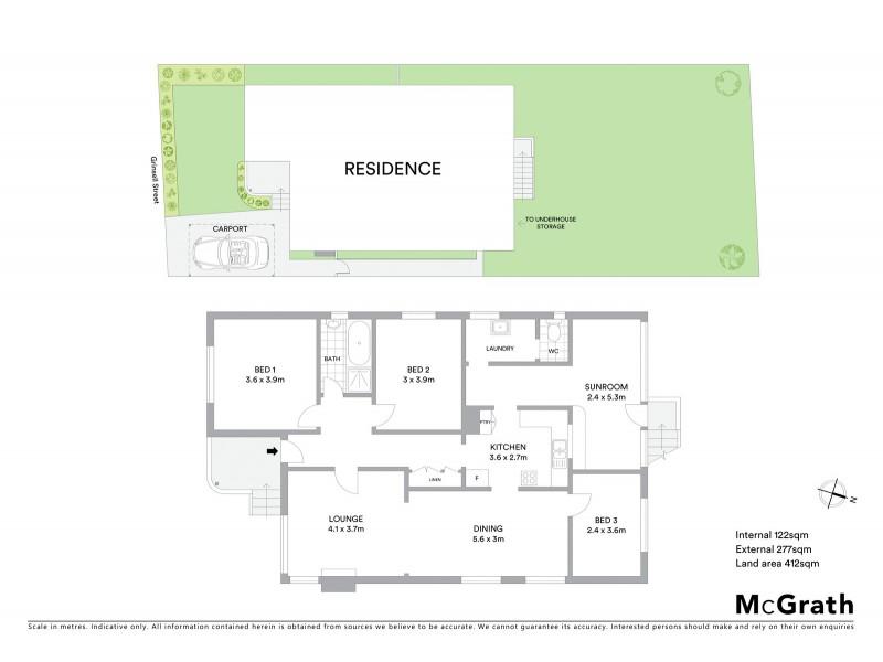28 Grinsell Street, New Lambton NSW 2305 Floorplan