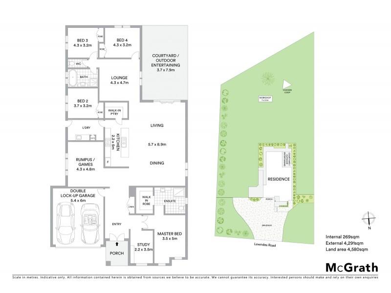 150 Lowndes Road, Bannockburn VIC 3331 Floorplan