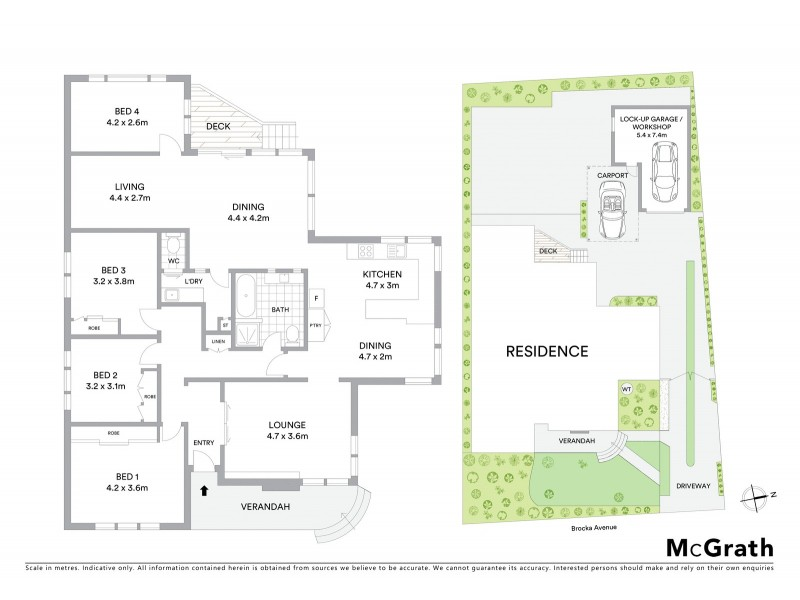 8 Brocka Avenue, Belmont VIC 3216 Floorplan