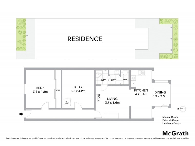 11 Gray Street, Yarraville VIC 3013 Floorplan