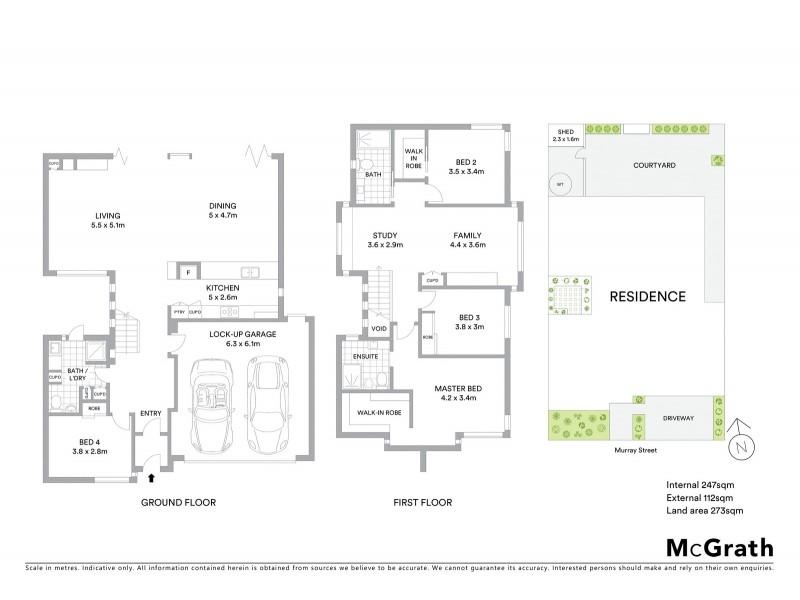 62 Murray Street, Yarraville VIC 3013 Floorplan