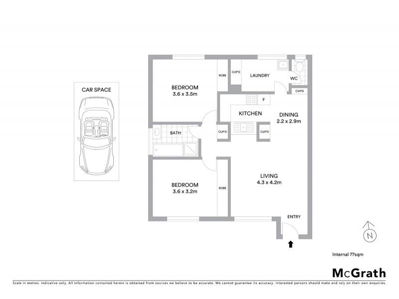 3/99-103 Summerhill Road, Footscray VIC 3011 Floorplan