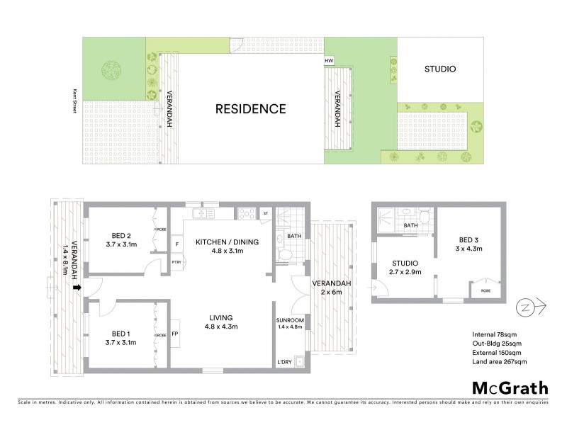 8 Kent Street, Yarraville VIC 3013 Floorplan
