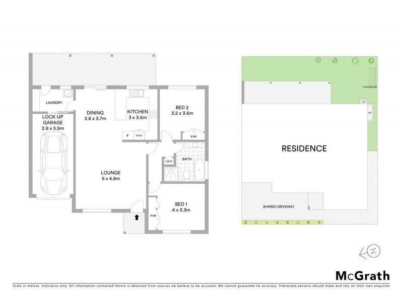 2/17 Vera Court, Mudgee NSW 2850 Floorplan