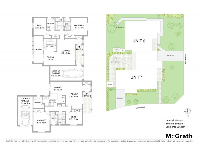 Unit 2/15 Oporto Road, Mudgee NSW 2850 Floorplan