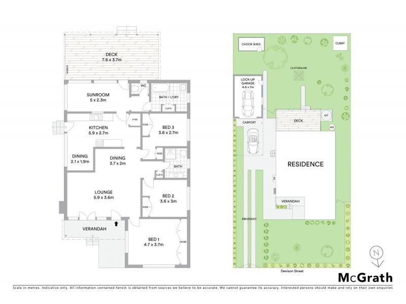 5 Denison Street, Mudgee NSW 2850 Floorplan