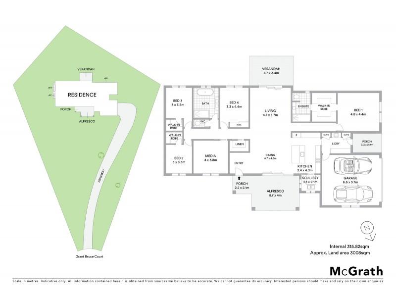 5 Grant Bruce Court, Mudgee NSW 2850 Floorplan