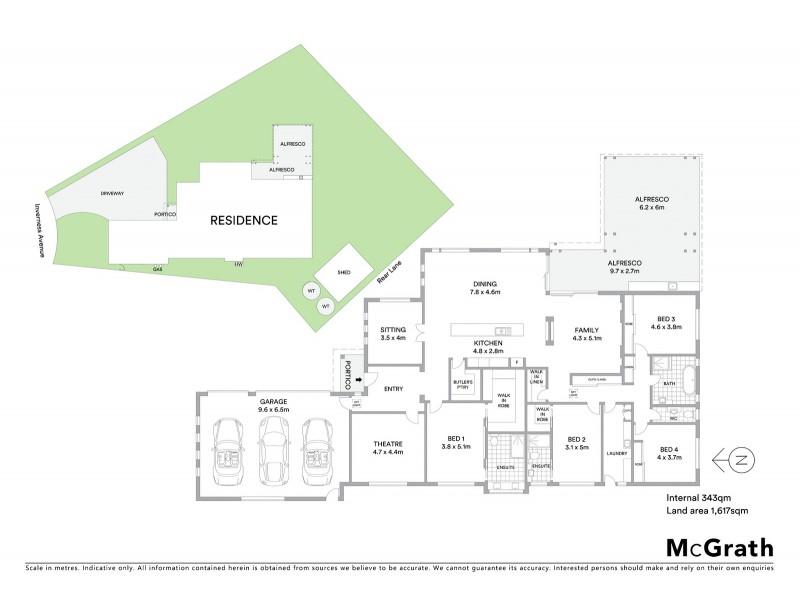 10 Inverness Avenue, Mudgee NSW 2850 Floorplan