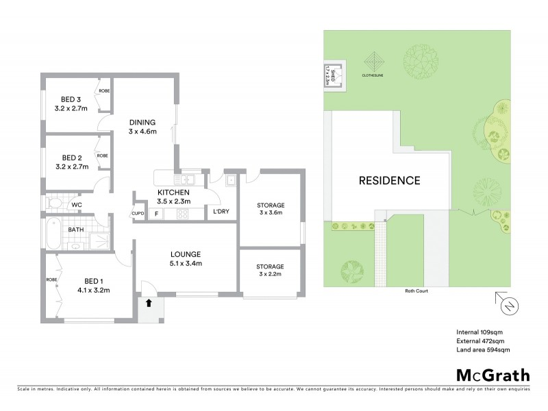 3 Roth Court, Mudgee NSW 2850 Floorplan