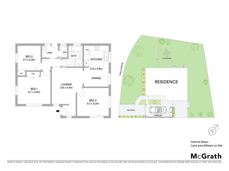 10A Havilah Terrace, Mudgee NSW 2850 Floorplan