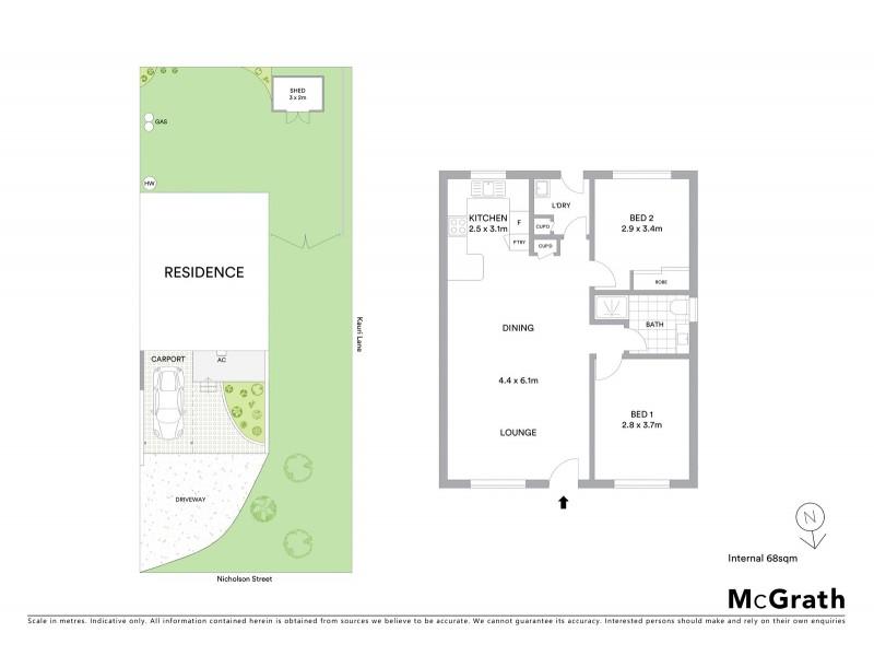 Unit 3/7 Nicholson Street, Mudgee NSW 2850 Floorplan