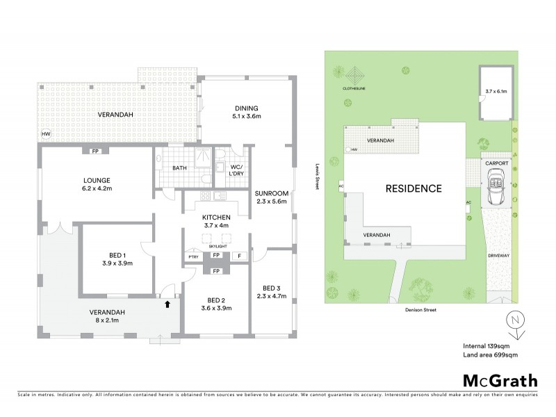 53 Denison Street, Mudgee NSW 2850 Floorplan