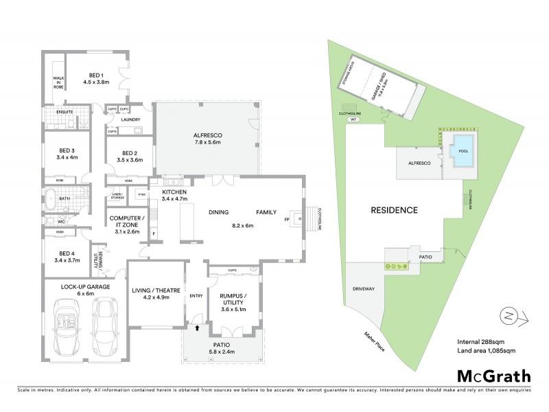 18 Maher Place, Mudgee NSW 2850 Floorplan
