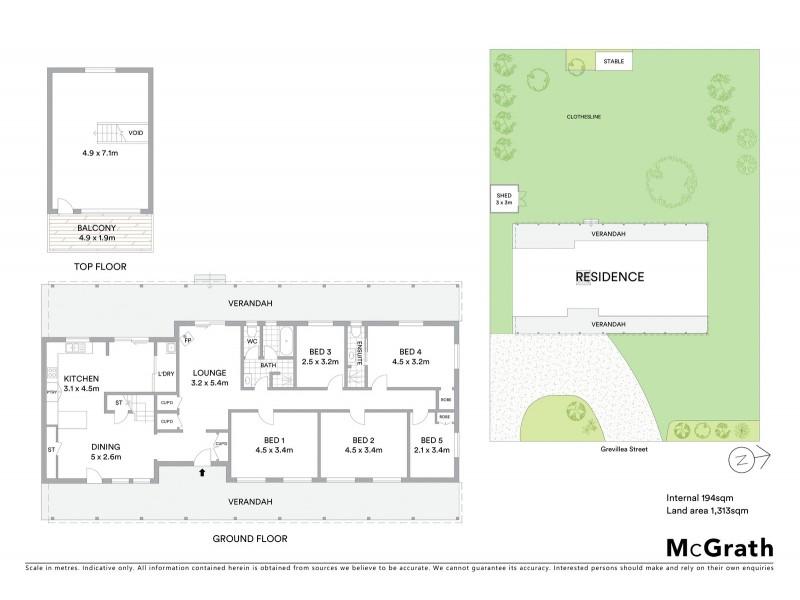 6 Grevillea Street, Gulgong NSW 2852 Floorplan
