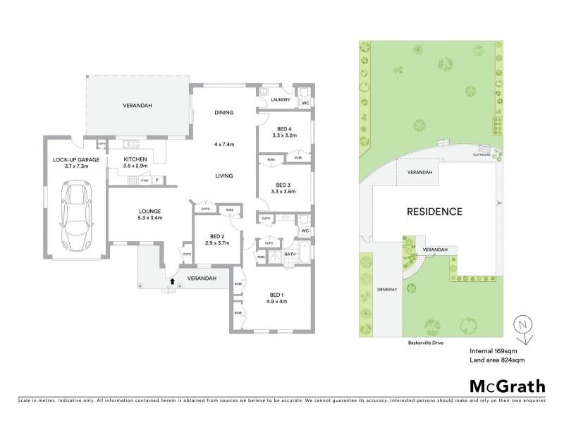 3 Baskerville Drive, Mudgee NSW 2850 Floorplan