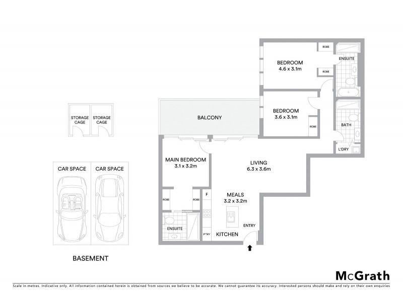 307/78 Doncaster Road, Balwyn North VIC 3104 Floorplan