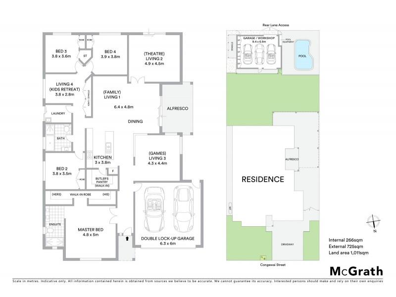 63 Congewai Street, Aberdare NSW 2325 Floorplan