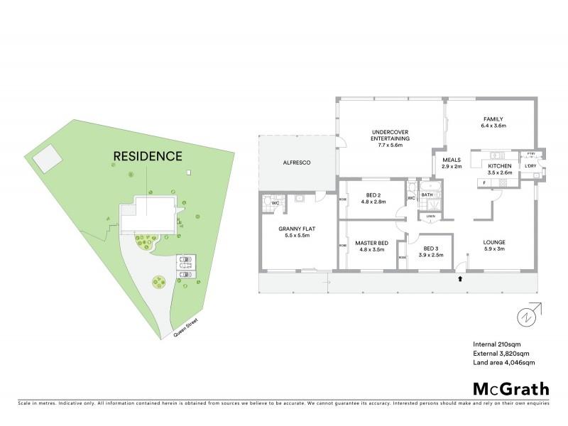 14 Queen Street, Abermain NSW 2326 Floorplan