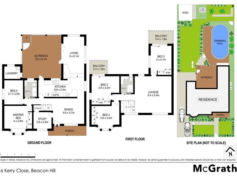 6 Kerry Close, Beacon Hill NSW 2100 Floorplan