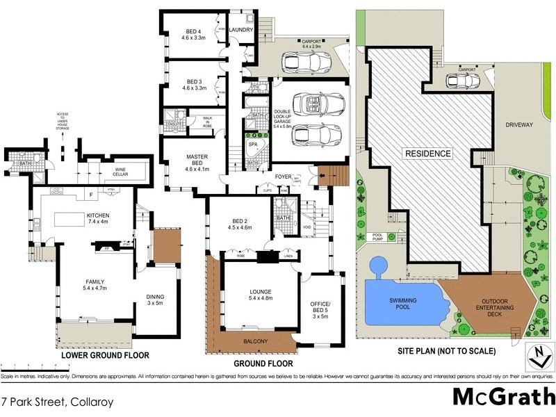 7 Park Street, Collaroy NSW 2097 Floorplan