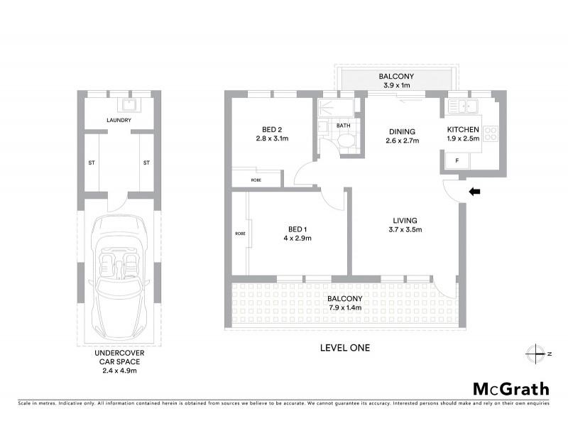 13/10 Queens Parade, Newport NSW 2106 Floorplan