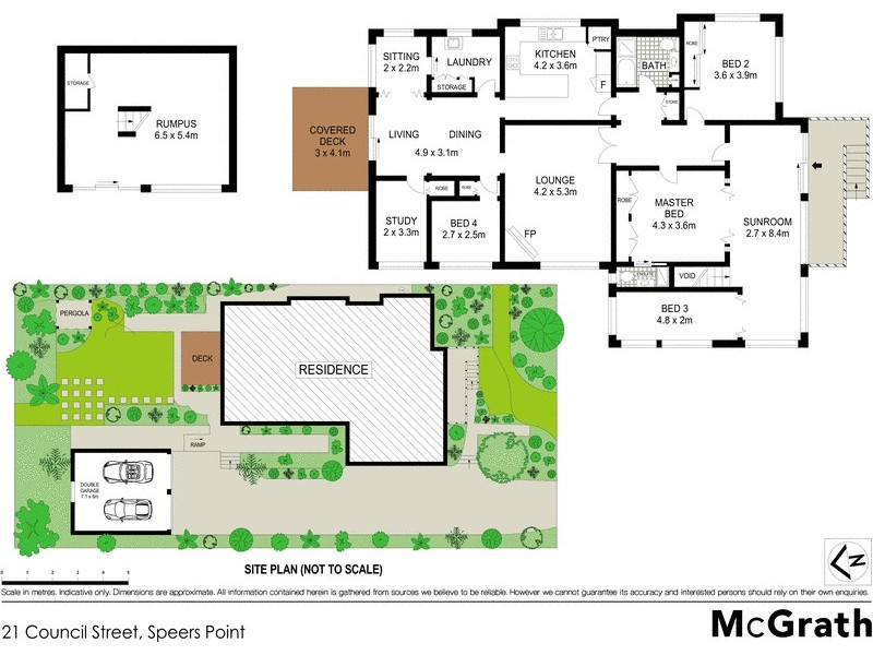 21 Council Street, Speers Point NSW 2284 Floorplan