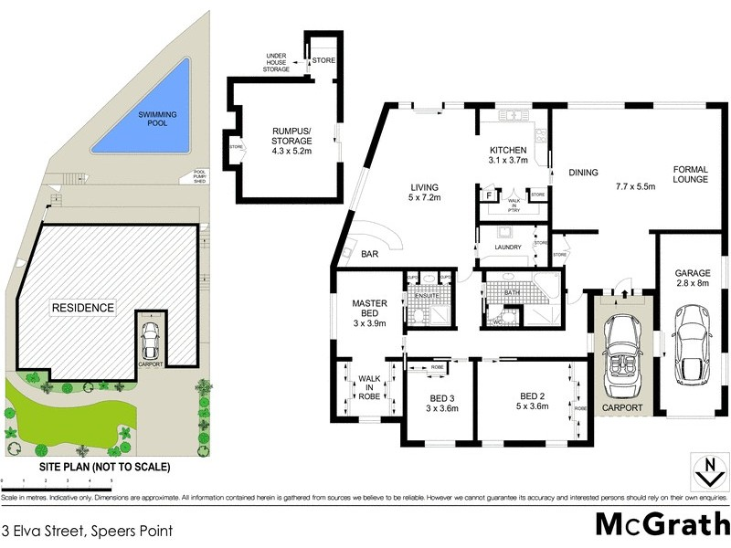 3 Elva Street, Speers Point NSW 2284 Floorplan